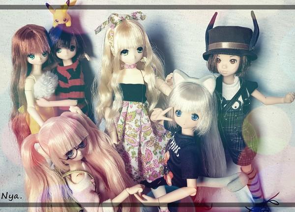 Les minis girls  + Nanaki :p  [Azone+ Ruruko + Disney]  20200611