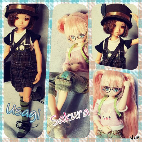 Les minis girls  + Nanaki :p  [Azone+ Ruruko + Disney]  Duo_us11