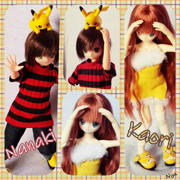 Les minis girls  + Nanaki :p  [Azone+ Ruruko + Disney]  Kaori_10