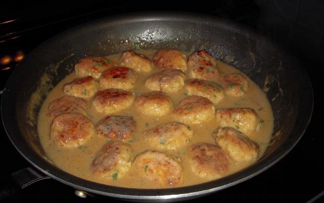 Boulettes... poulet et riz Boulet12
