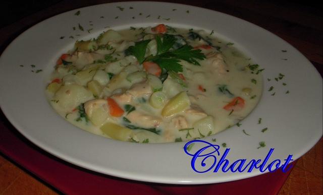 Chaudrée de Saumon et de Légumes Chodre10