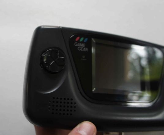 [Vendu] Game gear restaurée et modée avec nouvel écran LCD Gg611