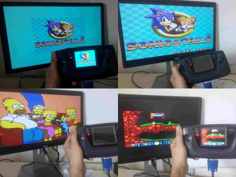 [Vendu] Game gear restaurée et modée avec nouvel écran LCD Montag12