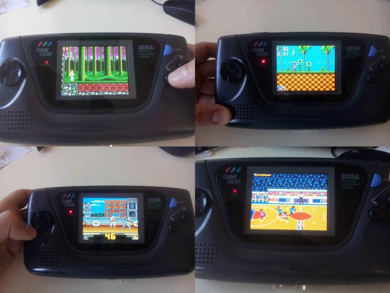 [Vendu] Game gear restaurée et modée avec nouvel écran LCD Montag13