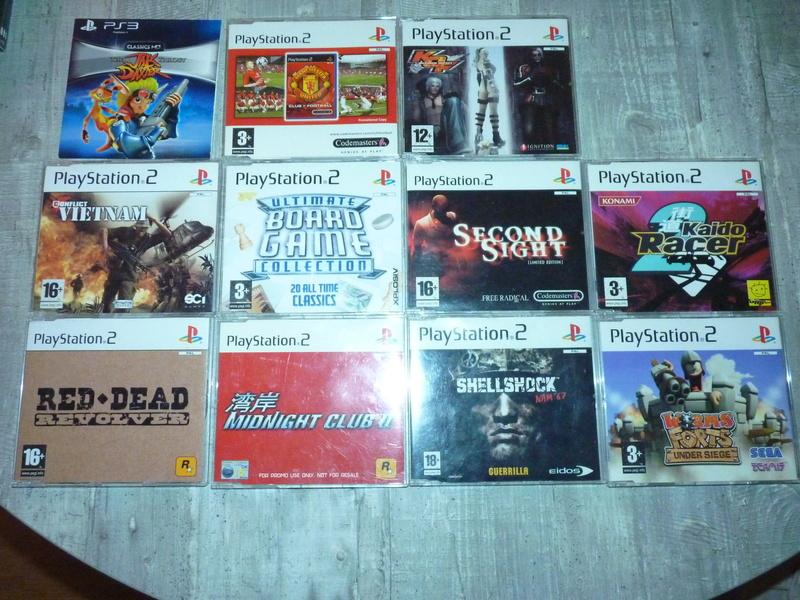 Estimation jeux promo PS2/PS3 P1020511