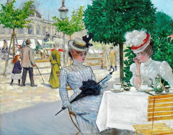 """Des élégantes  """"chapeautées"""" ... - Page 3 A_0013"""