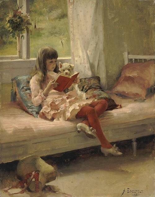 La lecture, une porte ouverte sur un monde enchanté (F.Mauriac) A_0067