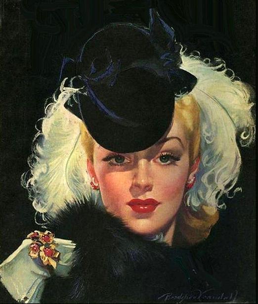 """Des élégantes  """"chapeautées"""" ... - Page 3 Chap_h10"""