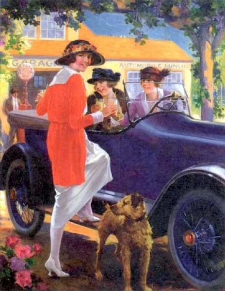"""Des élégantes  """"chapeautées"""" ... - Page 5 Chap_r15"""