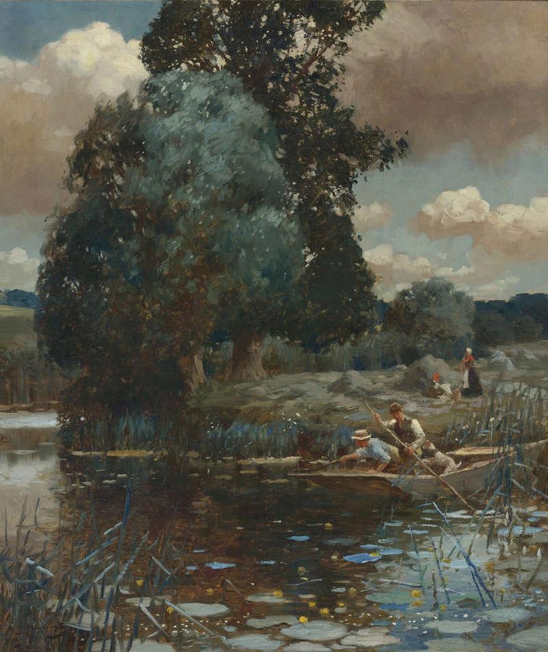 L'eau paisible des ruisseaux et petites rivières  - Page 4 Eau_010