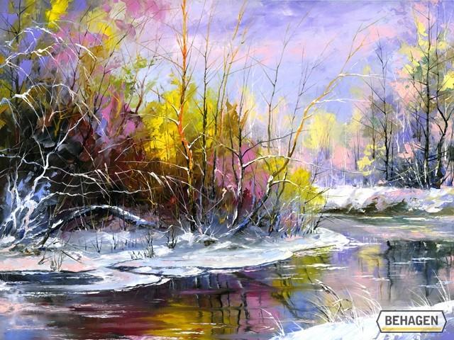L'eau paisible des ruisseaux et petites rivières  - Page 5 Eau_n15