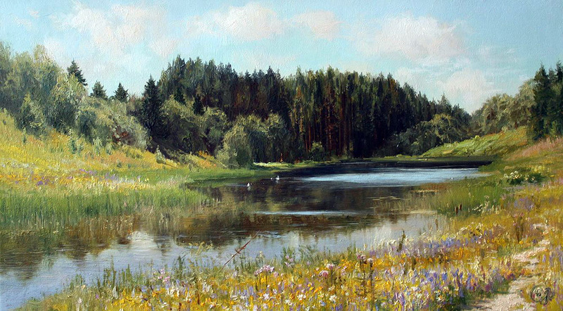 L'eau paisible des ruisseaux et petites rivières  - Page 3 Eau_v10