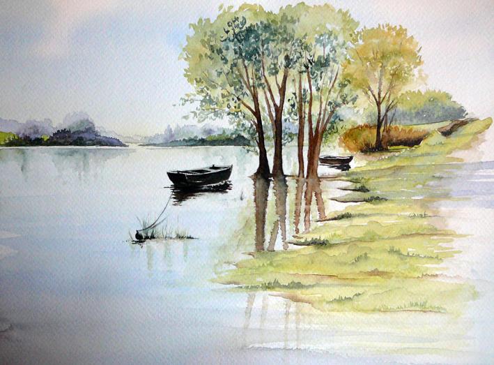 L'eau paisible des ruisseaux et petites rivières  - Page 4 Eau_z13