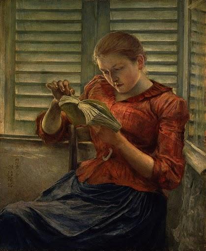La lecture, une porte ouverte sur un monde enchanté (F.Mauriac) Le_i10
