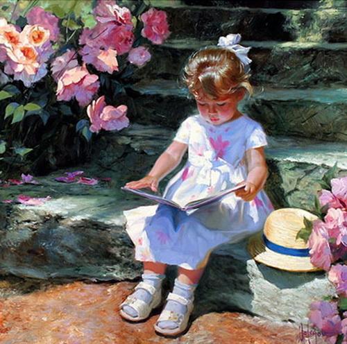 La lecture, une porte ouverte sur un monde enchanté (F.Mauriac) Le_o10