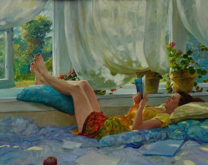 La lecture, une porte ouverte sur un monde enchanté (F.Mauriac) Le_s10