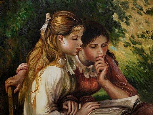 La lecture, une porte ouverte sur un monde enchanté (F.Mauriac) Lec_e10