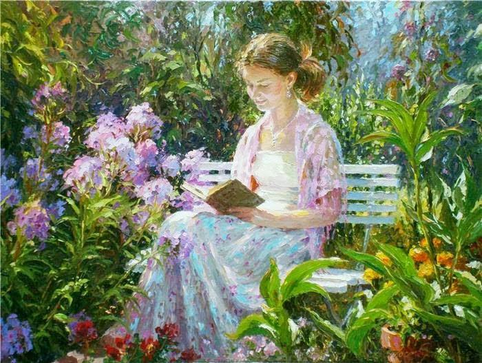 La lecture, une porte ouverte sur un monde enchanté (F.Mauriac) Lec_z13