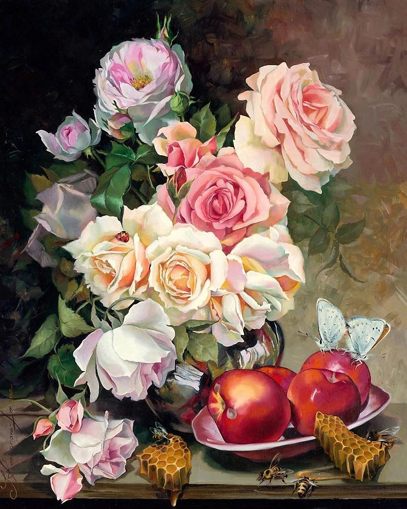 Le doux parfum des roses Ro12