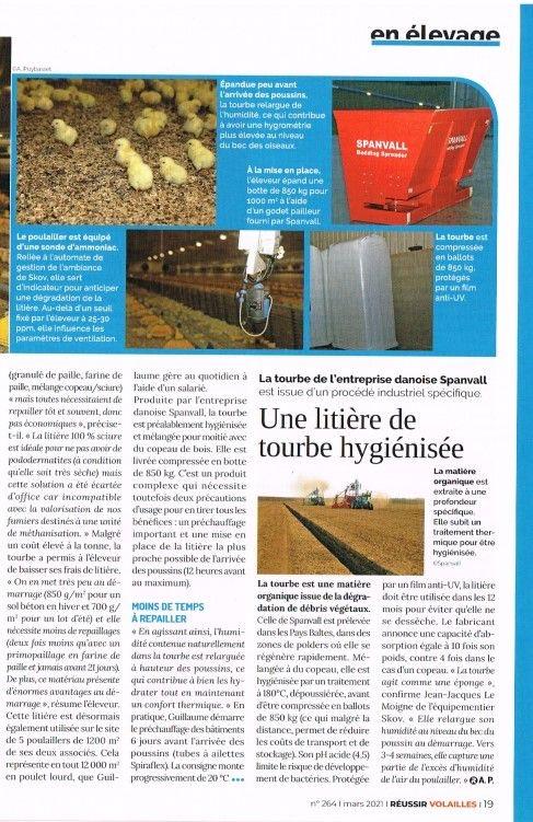 La litière de mousse de tourbe arrive en France  4ecb5610
