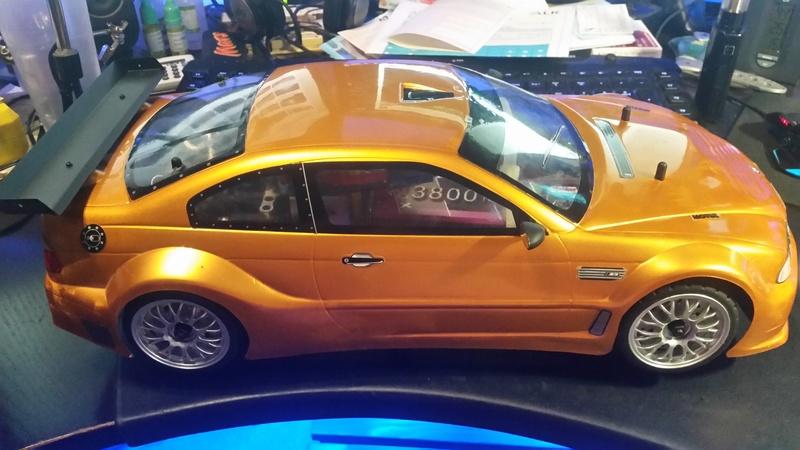 BMW M3 GTR Hachette brushless umbau 20160913