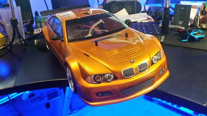 BMW M3 GTR Hachette brushless umbau 20160916