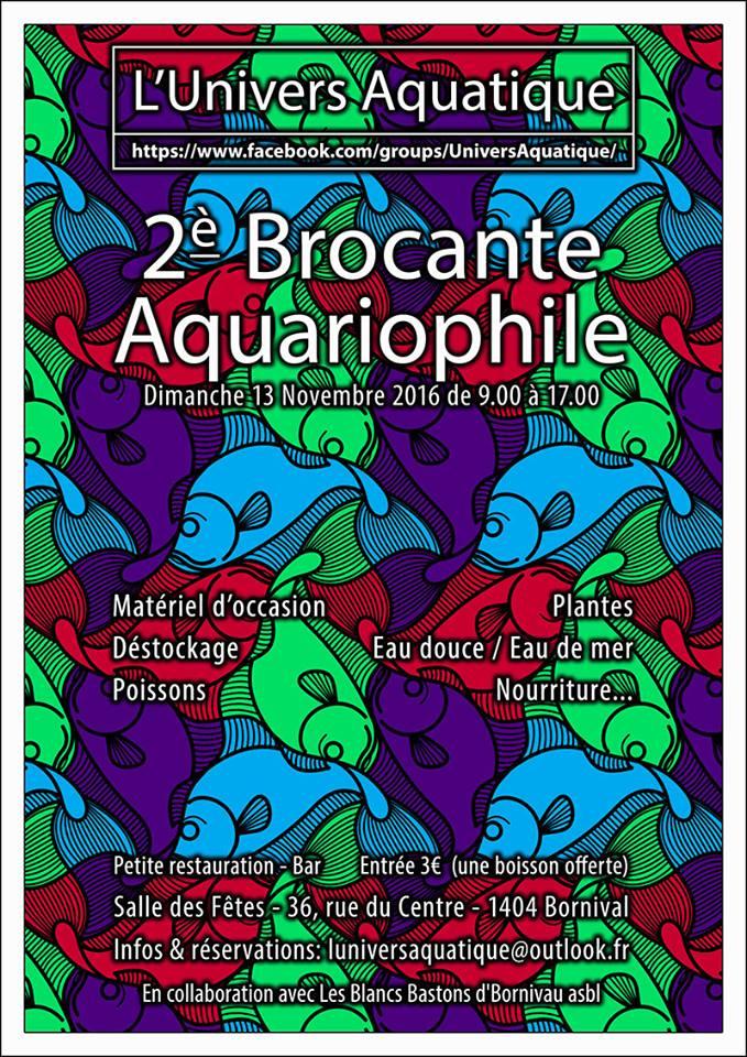 Brocante aquariophile Affich10