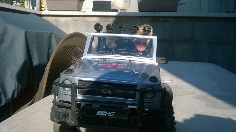 HG P402  Defender 90 pickup + remorque  - Page 2 Wp_20118