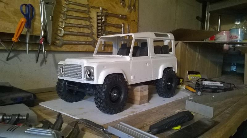 HG P402  Defender 90 pickup + remorque  - Page 2 Wp_20120