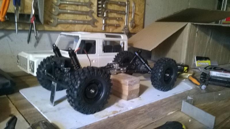 HG P402  Defender 90 pickup + remorque  - Page 2 Wp_20122