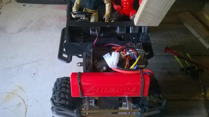 HG P402  Defender 90 pickup + remorque  - Page 2 Wp_20123