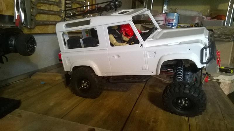 HG P402  Defender 90 pickup + remorque  - Page 2 Wp_20131