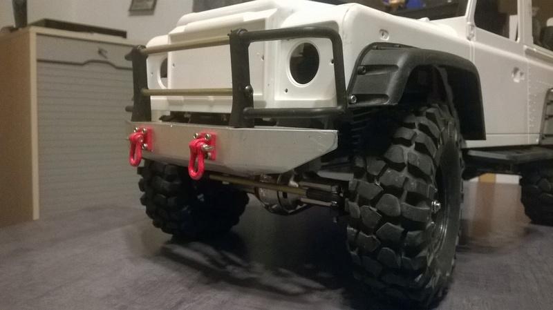 HG P402  Defender 90 pickup + remorque  - Page 2 Wp_20139