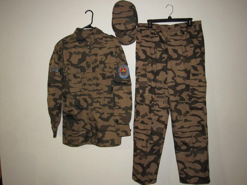 Mongolian Arid Uniform Mongol10
