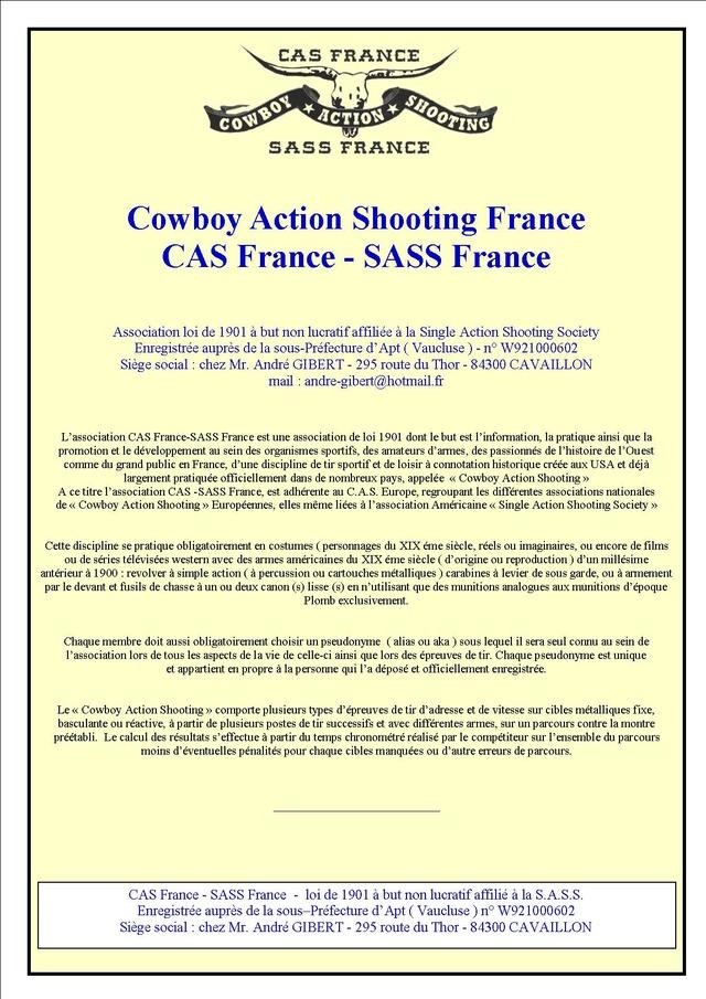 INSCRIPTION SASS - CAS France Insrip22