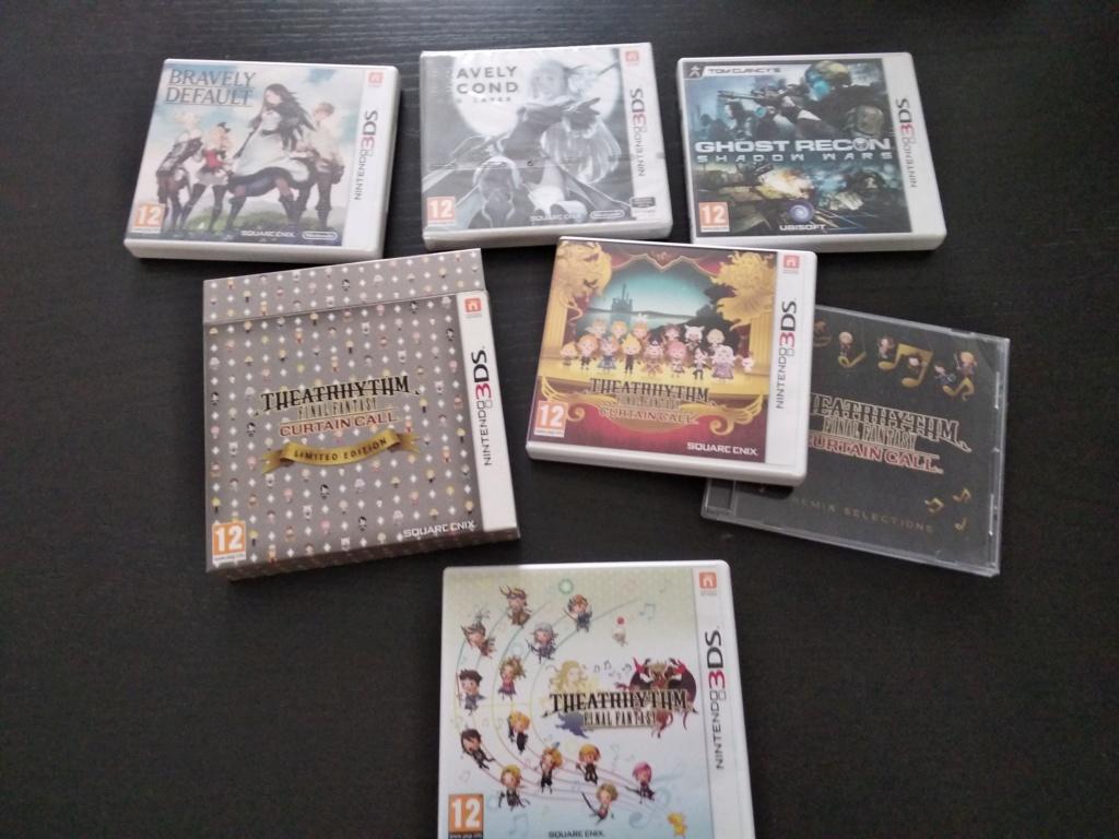Estimation Super Nintendo, 3DS , PSP, Dreamcast, Nintendo DS, Starex Img_2037