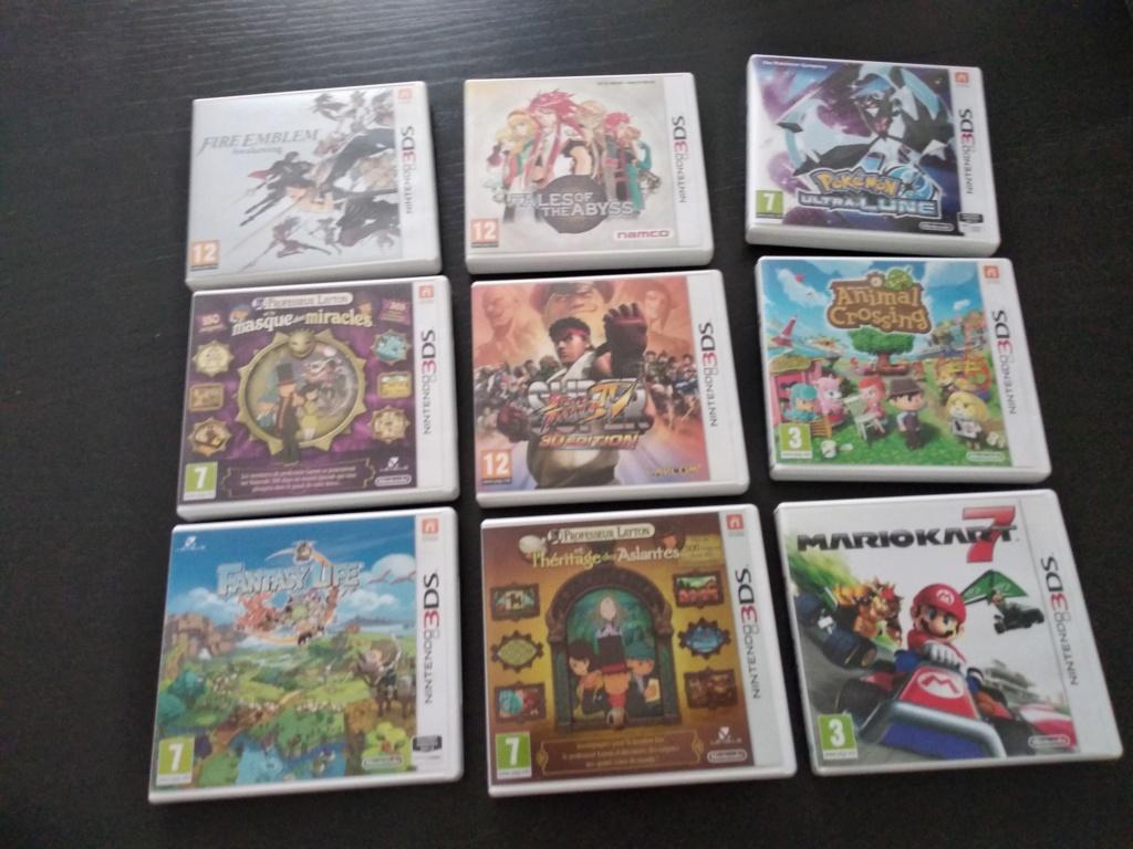 Estimation Super Nintendo, 3DS , PSP, Dreamcast, Nintendo DS, Starex Img_2038