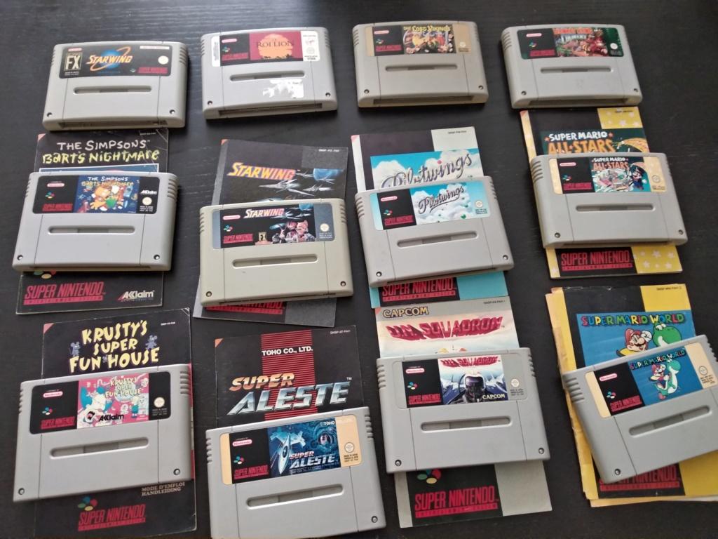 Estimation Super Nintendo, 3DS , PSP, Dreamcast, Nintendo DS, Starex Img_2044
