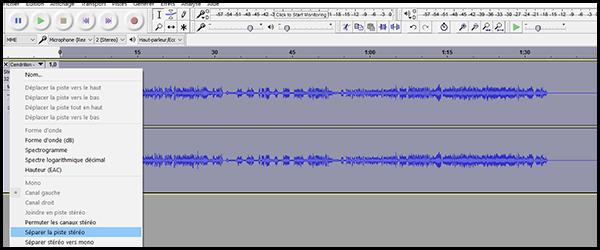 [Audacity] Réaliser un instrumental à partir d'une chanson Audaci11
