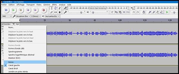 [Audacity] Réaliser un instrumental à partir d'une chanson Audaci12