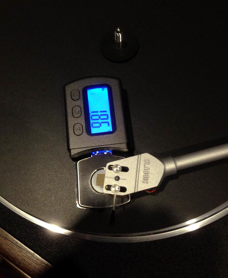 Stylus Force Tracking Gauge / Arm Load Meter for Vinylphiles Stylus10