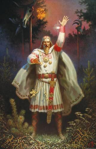 Perun, dieu Slave du tonnerre et des éclairs .  Perun210