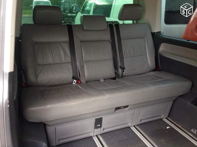 siège intermédiaire cuir MULTIVAN Banq110