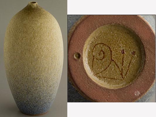 Studio Pottery Vase, Snail mark - Joan Carrillo, Spain  Escar_12