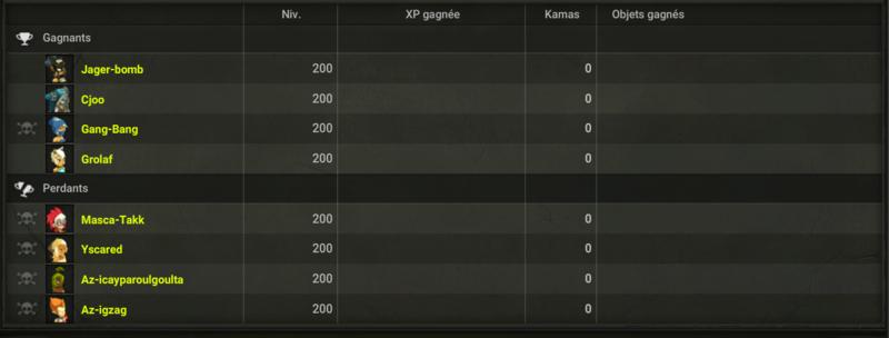 HPW 3 : Résultats des Matchs Fgsdg11