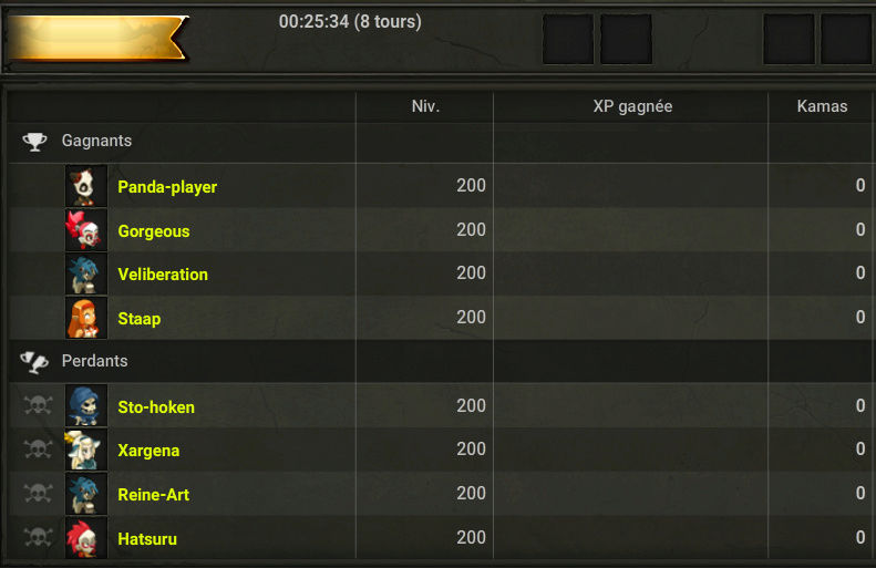 HPW 3 : Résultats des Matchs Qtqerf10