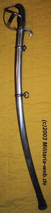 Les essais de remplacement du Blücher Sâbel 1811 Saebel10
