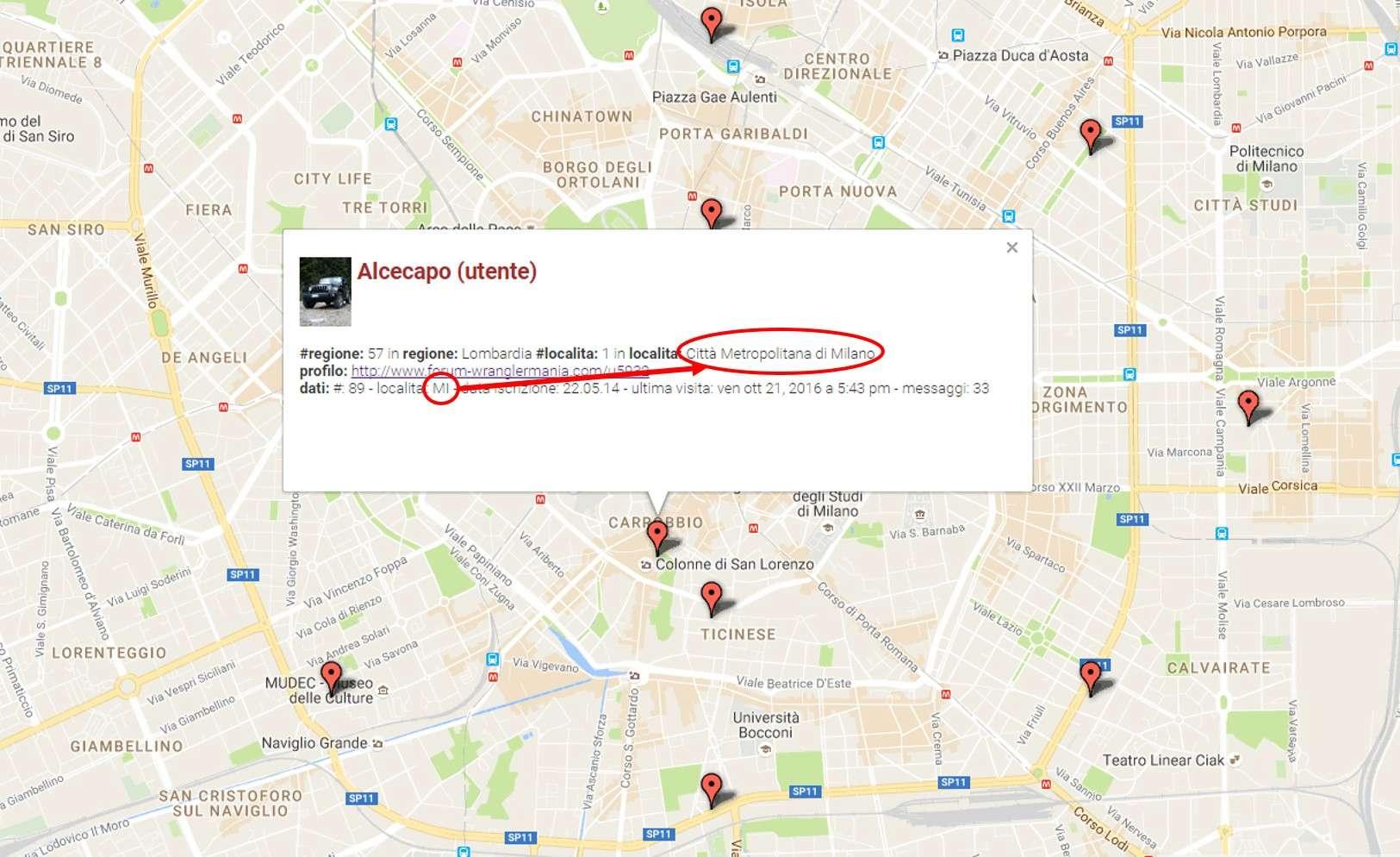 PROFILO e riga Località per consentire visualiz. su mappa utenti Alceca10