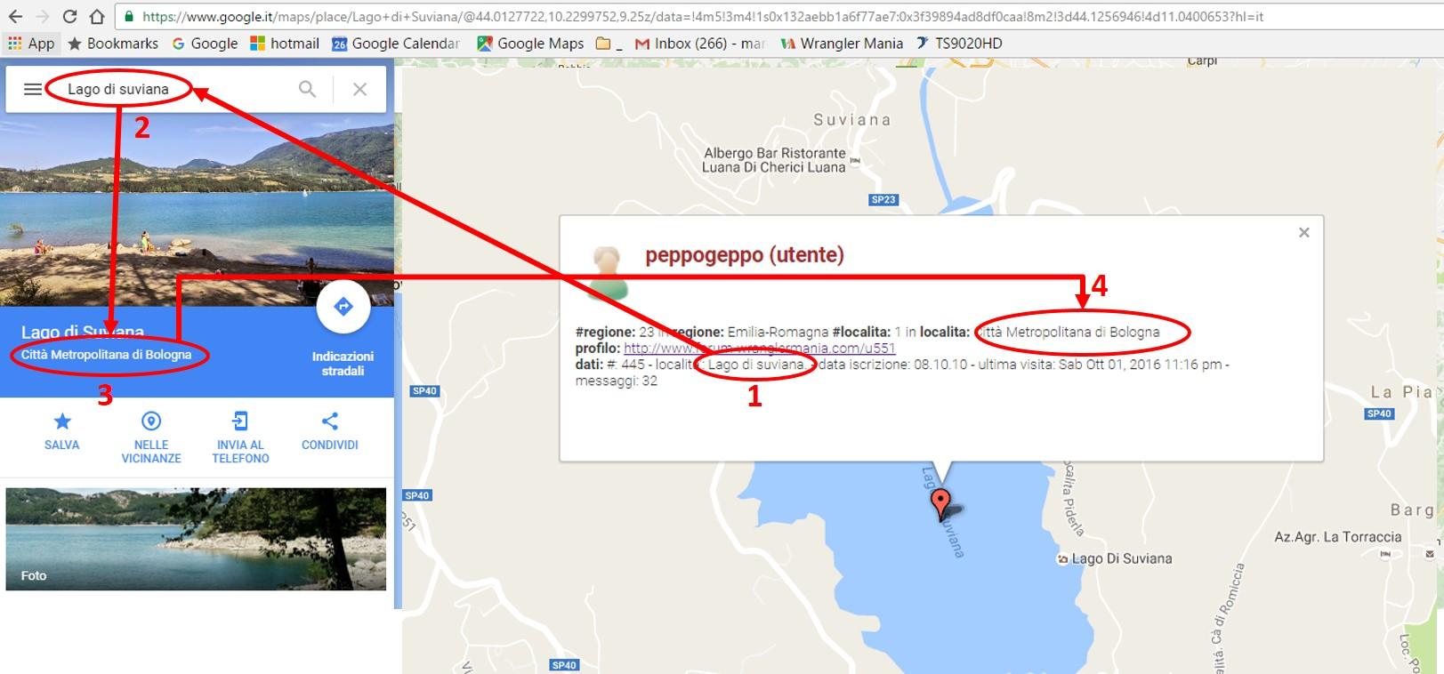 PROFILO e riga Località per consentire visualiz. su mappa utenti Comema10
