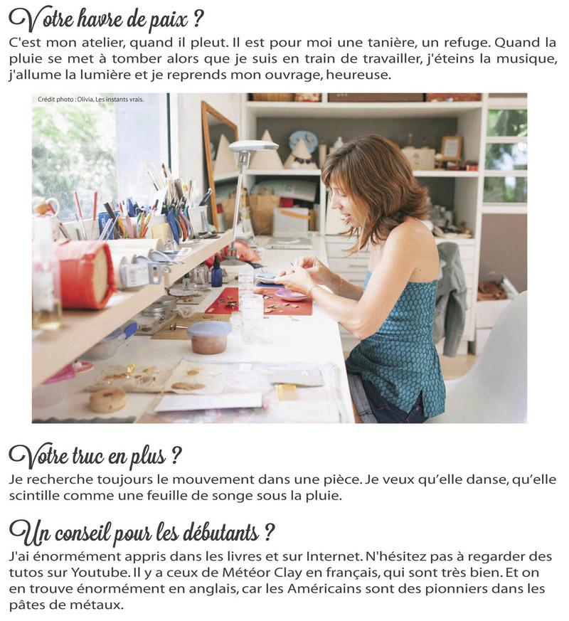 L'artiste du mois de novembre 2016 : Marion Rouaux Marion36